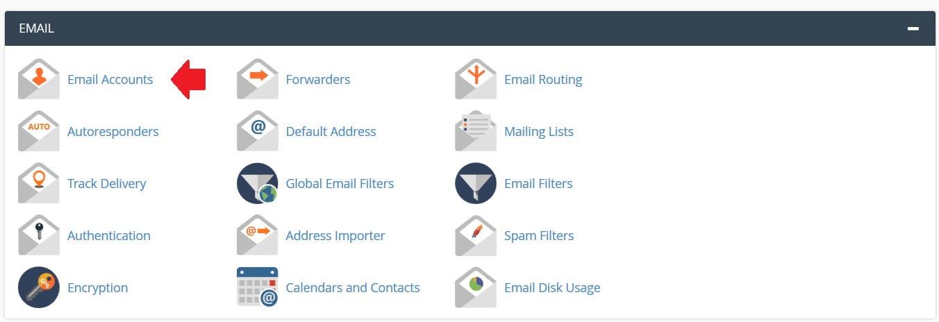 روش ساخت وب میل webmail در سی پنل cPanel